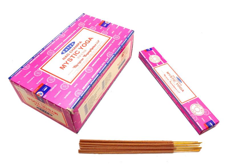 Благовония Satya Mystic Yoga (плоская пачка) 15 грамм