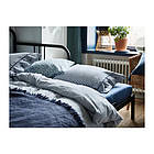 Плед IKEA JOFRID 150x200 см серый 203.957.41, фото 6