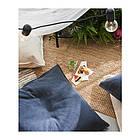 Плед IKEA JOFRID 150x200 см серый 203.957.41, фото 8