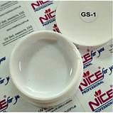 Гель Nice for you белый GS-1, 30 г., фото 2