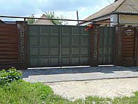 Филенчатые ворота, В-12
