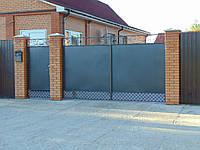 Кованые ворота В-7