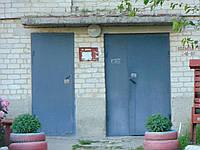 Двері в один лист двохстворні 1,4*2,5м  Д-17, фото 1