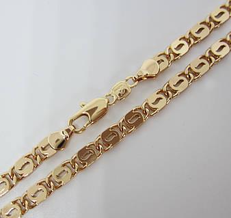 Цепочка плетение Улитка H-5 мм длина 60 см позолота 18К