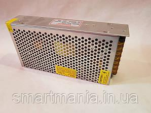 Мережевий адаптер 12V 15A метал,перетворювач напруги, блок живлення, зарядний пристрій
