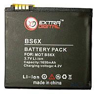 Аккумулятор Motorola BS6X / DV00DV6134 (1650 mAh) ExtraDigital