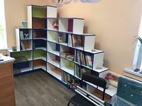 Мебель для библиотек полки, стеллажи, шкафы