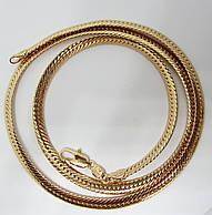 Цепочка плетение Париджина H-5 мм длина 60 см позолота 18К