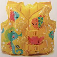 Надувной детский жилет Рыбки Intex 59661, фото 1