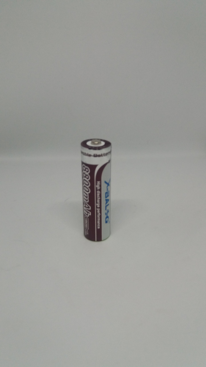 X-BALOG 18650 8800mA (реальная емкость 800mA)