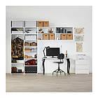 Шкаф IKEA PLATSA 340x42x241 см Fonnes Sannidal белый 292.483.69, фото 4
