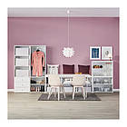 Шкаф IKEA PLATSA 340x42x241 см Fonnes Sannidal белый 292.483.69, фото 6