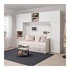 Шкаф IKEA PLATSA 340x42x241 см Fonnes Sannidal белый 292.483.69, фото 8