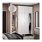 Шкаф IKEA PLATSA 340x42x241 см Fonnes Sannidal белый 392.485.90, фото 5