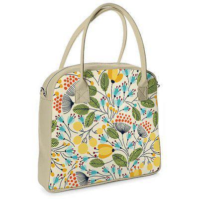 59b9d142fbe0 Большая каркасная женская сумка с цветочным принтом. 4 варианта ...
