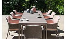 Обідінй комплект Стіл розкладний Rio 210 -280 см +8 крісел Net Relax