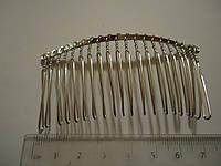 Гребешок металлический 7.5см