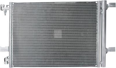 Радиатор кондиционера Opel Astra J (1.3-2.0) 570*396мм по сотах (с осушителем) KEMP