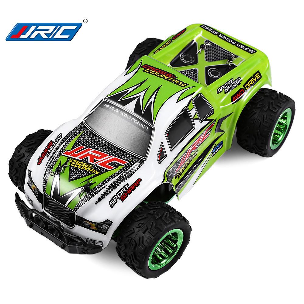 Автомобиль внедорожник на радиоуправлении JJRC Q35 Green 1:26. До 30 км/ч