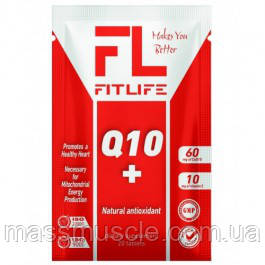 Антиоксидант FitLife Nutrition Q10 + 20 tab