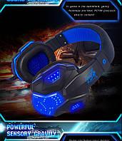 Игровые наушники Plextone PC780 - подсветка, микрофон, фото 1
