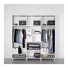 Шкаф IKEA PLATSA 240x57x251 см Fonnes белый 792.485.88, фото 3