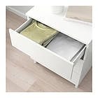 Комод с 3 ящиками IKEA PLATSA 60x55x73 см Fonnes белый 492.772.47, фото 3