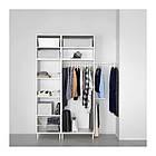 Шкаф IKEA PLATSA 340x42x241 см Fonnes Sannidal белый 392.485.90, фото 2
