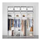 Шкаф IKEA PLATSA 240x61x281 см Fonnes белый 592.486.26, фото 3