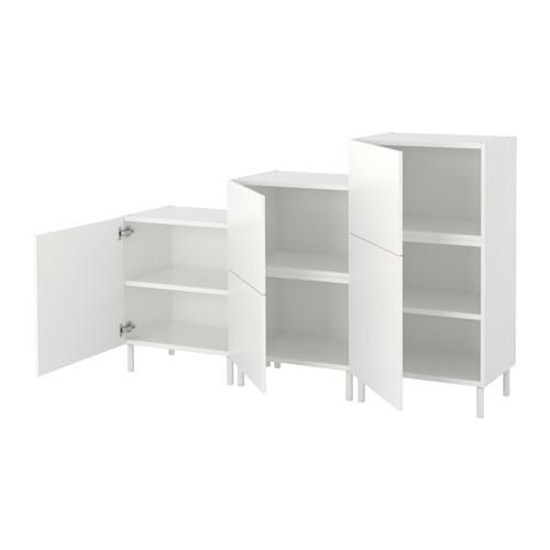Шкаф IKEA PLATSA 180x42x113 см Fonnes белый 392.485.85