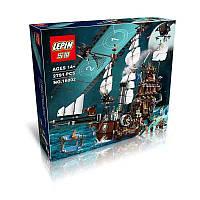 """Конструктор Lepin 16002, """"Корабль Стальной Бороды"""", 2791 деталь, аналог Lego 70810"""