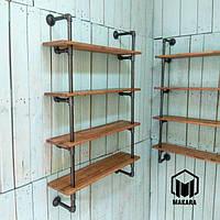 №27 Полка в стиле loft Industrial мебель лофт изделия из труб