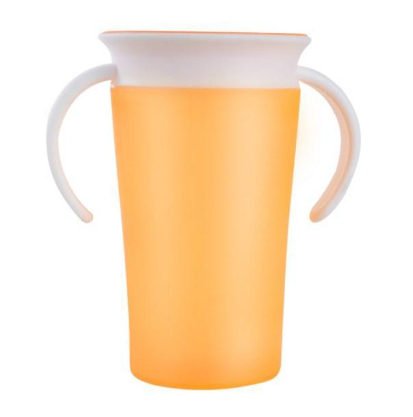 Кружка-непроливайка для детей Magic Cup оранжевая