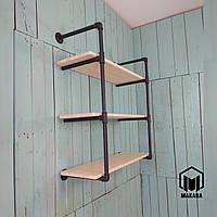 № 28/3 Полки мебель стеллаж этажерка в стиле лофт loft из труб