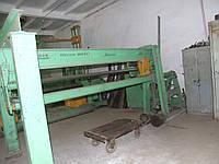 СТД-28 - Фальцеосадочный станок (гибочный пресс)