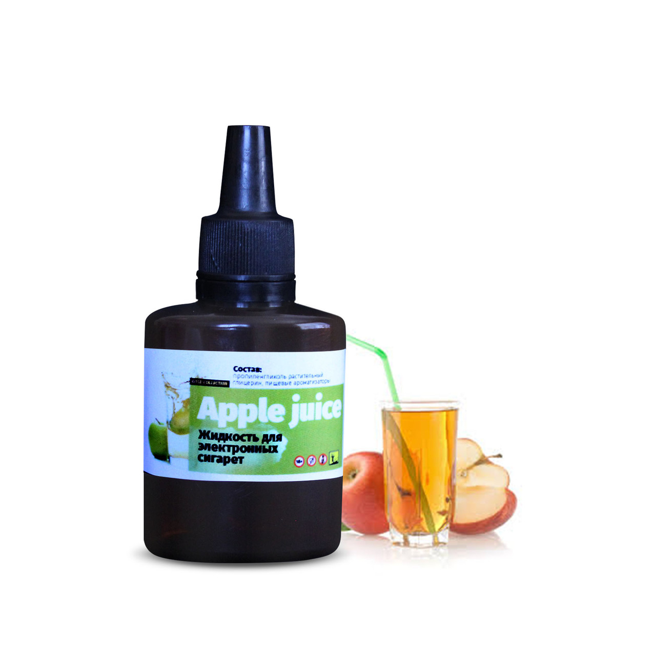 Жидкость для электронных сигарет 4ISTO VAPE Яблочный сок 30 мл 0 мг/мл