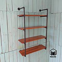 № 28/4 Стеллаж мебель Полки этажерка в стиле лофт loft из труб