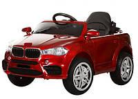 Детский электромобиль МХ4444 BMW X5, Резина EVA, 4 Амортизатора, Кожа, Автопокраска,дитячий електромобіль