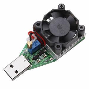 Навантажувальний резистор тестер USB до 3А регульований з кулером