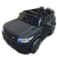 Детский электромобиль M 3402 EBLRM-2  Land Rover, EVA колеса, черный ***