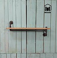 №8 Полочка Полка LOFT мебель лофт изделия из труб