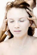 Массаж волос и кожи головы.