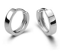 Серебряные серьги Кольцо стерлинговое серебро 925 пробы (код 1008), фото 1