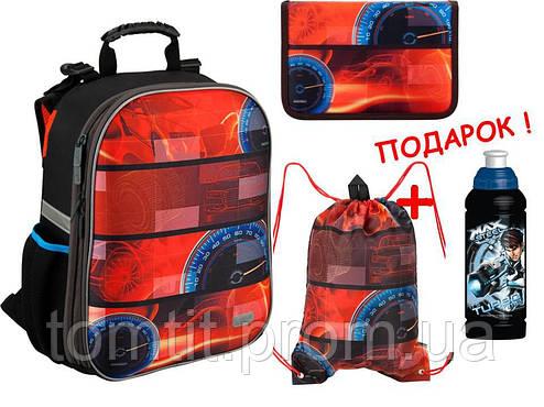 4485dcf0051a Комплект. Рюкзак школьный каркасный Auto K16-531M-5 + пенал + сумка ...