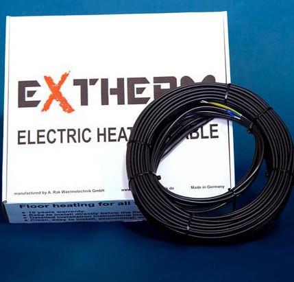 Теплый пол Extherm Германия кабель  500 (2.5-3.1м2)