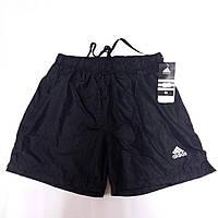 Шорты мужские спортивные Adidas, размеры M-3XL, чёрные, 8809, фото 1