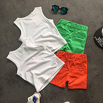 """Летний костюм для мальчика майка и шорты """"Baby Guru"""" зеленый , фото 3"""