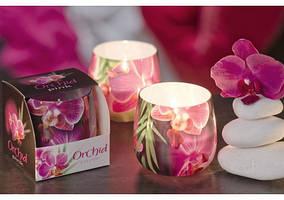 Свечи в стакане (ароматизированные)