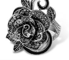 Винтажное большое кольцо
