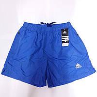 Шорты мужские спортивные Adidas, размеры M-3XL, электрик, 8809